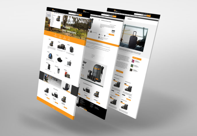 Lowepro.cz - brandový e-shop