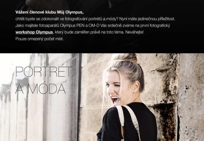 Olympusobchod.cz - Pozvánka na workshop