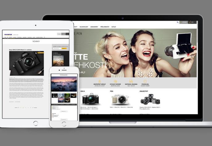 Olympusobchod.cz - brand e-shop