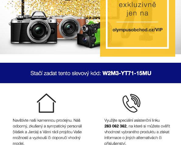 Olympusobchod.cz - Ukázka zpravodaje