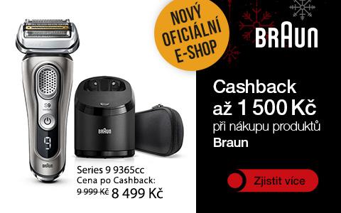 Braun - online kampaň, ukázka banneru